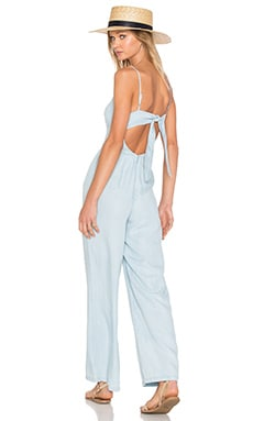 Elliot Jumpsuit in Light Blue