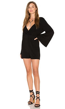 Jack By BB Dakota Magorian Romper in Black