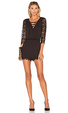 Jack By BB Dakota Mendel Romper in Black