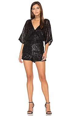 Clare Romper in Black