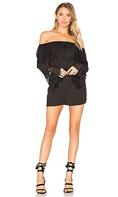 Cavell Romper in Black