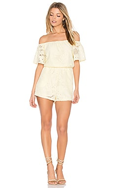 Haidyn Romper in Pale Yellow