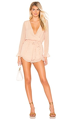 Chiffon My Mind Romper BB Dakota $88