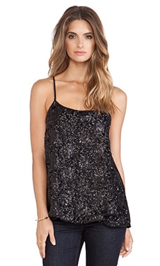 BB Dakota Randy Sequin Tank in Black