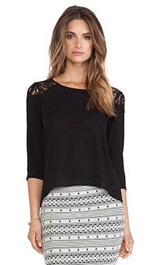 Jack by BB Dakota Tayla Top in Black