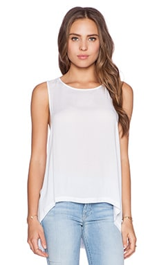 BB Dakota Gerdie Tank in Optic White