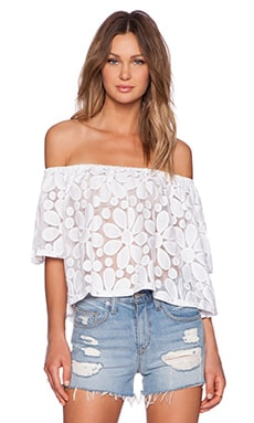 Jack by BB Dakota Dia Top in White