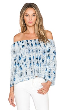 BB Dakota Mina Top in Baltic Blue