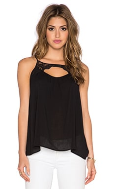 Jack by BB Dakota Reeve Tank in Black