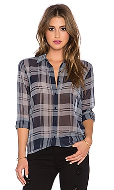 BB Dakota Katrina Plaid Shirt in Oilslick
