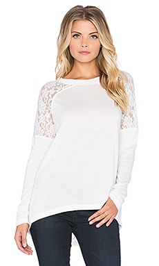 Jack by BB Dakota Nevin Top en Whisper White