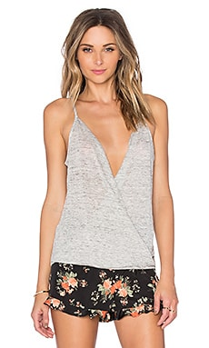BB Dakota Sandrine Tank in Light Heather Grey