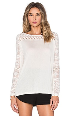BB Dakota Jack by BB Dakota Morris Top in Ivory