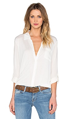 BB Dakota Jack by BB Dakota Maxwell Button Up in White