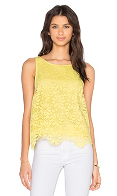 Daria Top in Yellow