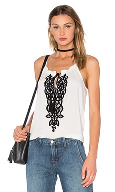Eliza Top in Dirty White