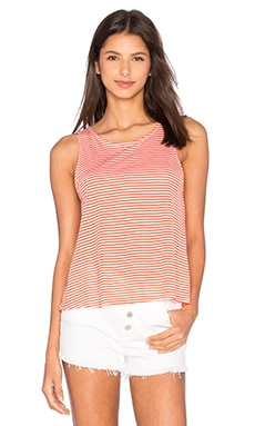 Jack By BB Dakota Halen Top in Hot Coral