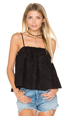 BB Dakota Lily Rose Top in Black