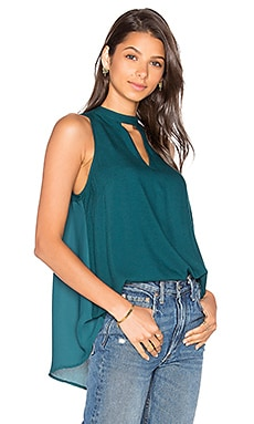 Jack By BB Dakota Schuman Top in Juniper Green
