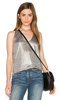 Jack By BB Dakota Denzel Top in Silver