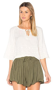Pelham Top in Ivory