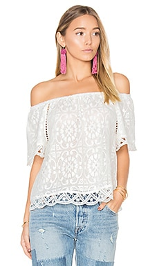 Curren Top in Ivory