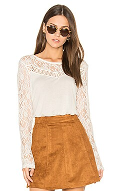 Jack by BB Dakota Carya Top in Ivory