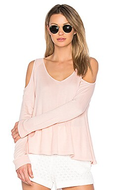 Jack By BB Dakota Bartemus Top in Dusty Rose