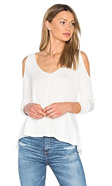 Jack by BB Dakota Bartemus Top in White