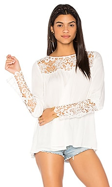 Geraldine Top in White