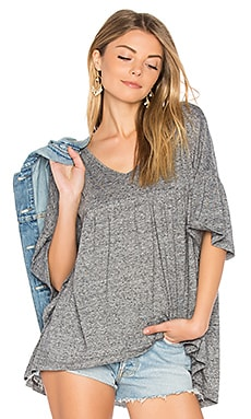 Jack by BB Dakota Oday Top in Heather Grey