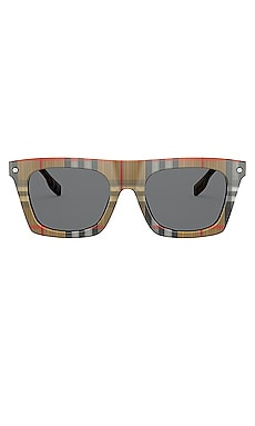 B.Stripe Camron Flattop Burberry $254 NEW