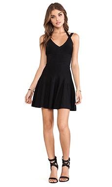 BCBGMAXAZRIA Elizabeth Dress in Black