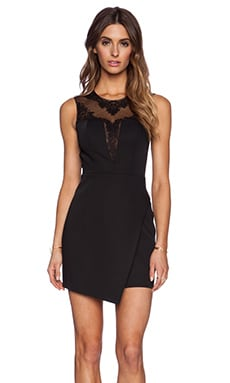 Bodice Mini Dress in Black