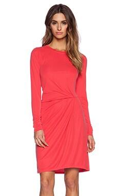 BCBGMAXAZRIA Roxie Dress in Vintage Red Berry