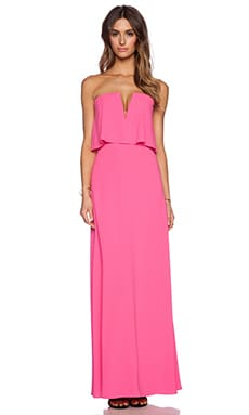 BCBGMAXAZRIA Alyse Dress in Neon Pink