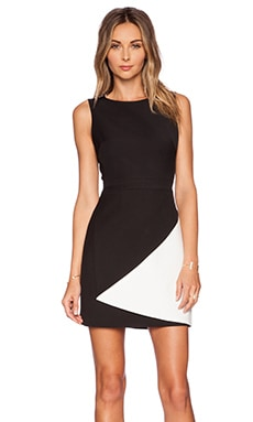 BCBGMAXAZRIA Jesica Dress in Black Combo