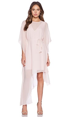 BCBGMAXAZRIA Suzy Dress in Light Shell