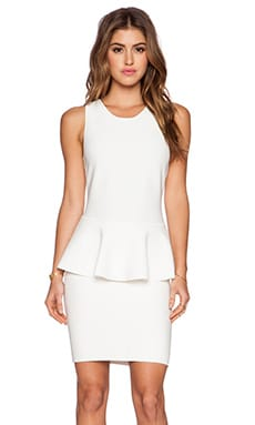 BCBGMAXAZRIA Francis Dress in Gardenia