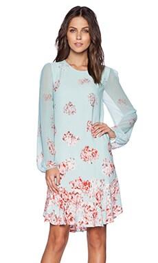 BCBGMAXAZRIA Bailee Dress in Aqua Mist Combo