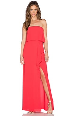 BCBGMAXAZRIA Felicity Dress in Lipstick Red