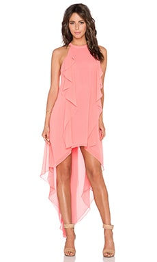 BCBGMAXAZRIA Kelsia Dress in Coral