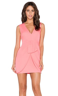 BCBGMAXAZRIA Clare Dress in Pink Coral