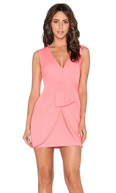 BCBGMAXAZRIA Clare Dress in Pink Coral