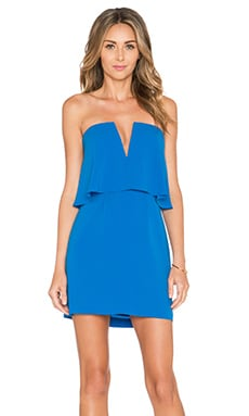 BCBGMAXAZRIA Kate Dress in Larkspur Blue