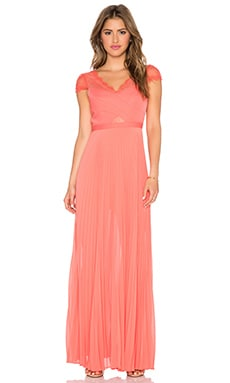 BCBGMAXAZRIA Madalena Maxi Dress in Ambrosia