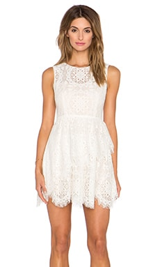 BCBGMAXAZRIA Charlee Dress in Ivory