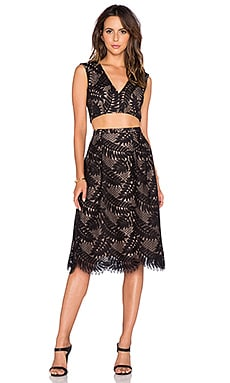 BCBGMAXAZRIA 2 Piece Dress in Black