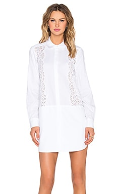 BCBGMAXAZRIA Lucetta Dress in White