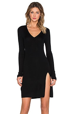 BCBGMAXAZRIA Macki Sweater Dress in Black